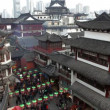 Shopping area with traditional Chinese buildings — Stock Video #62055461
