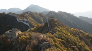 Great Wall in disrepair large sections — Stok video