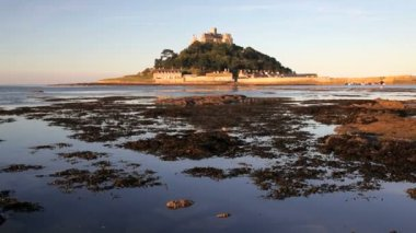 St Michaels Mount — Stock Video