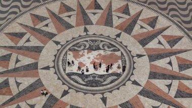 Mosaic World Map — Stock Video