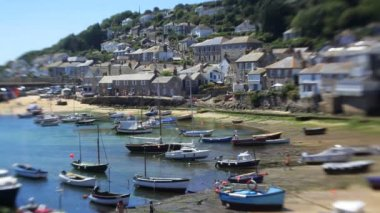 Mousehole Harbour — Stock Video