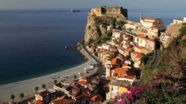 Scilla old town — Stock Video