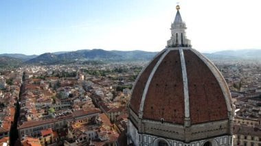 Duomo Cathedral dome — Stok video