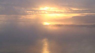 Scottish sunrise early morning — Stock Video