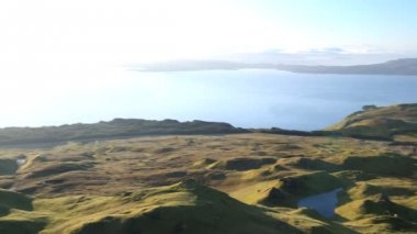 View  of Old Man of Storr Trotternish Peninsula Isle — Stock Video