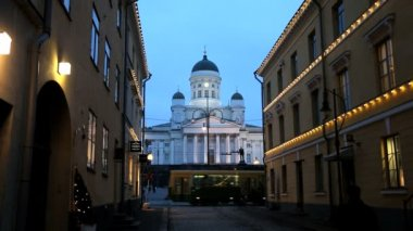 Lutheran Domed Cathedral - Helsinki — Stockvideo