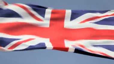 National flag the Union Jack — Stock Video