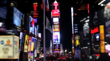 New York and Times Square — Vidéo