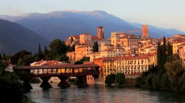 Bassano del Grappa — Stock Video