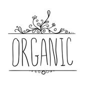 Organic hand-sketched element. — Stock Vector