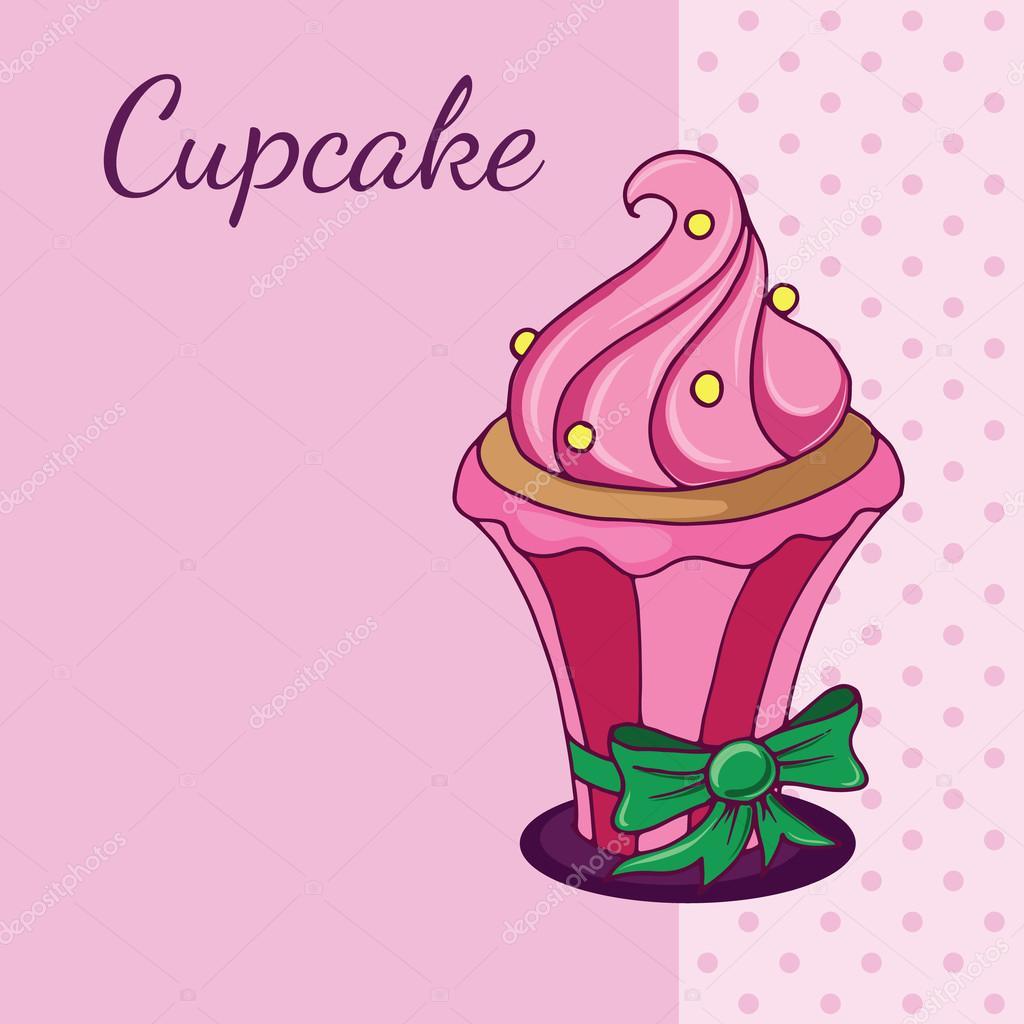 advertisement template cupcake stock vector © radhanamini advertisement template cupcake stock illustration