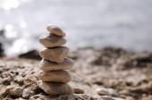 Torre de pedra — Fotografia Stock