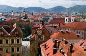 Graz roofs — Stock Photo