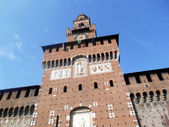 Sforza Entrance, Milan, Italy — Stockfoto
