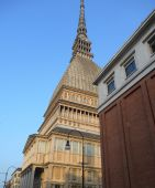 La mole Antonelliana, Turin, Italy — Stock Photo