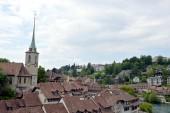 Clock tower at Berne Switzerland — Stock Photo