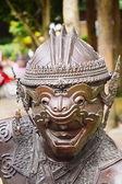 Hanuman, the king of monkeys in the Ramayana — Stock Photo