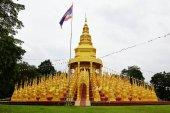 Golden pagodas — Stock Photo
