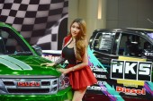 Bangkok International Auto Salon 2015 — Stockfoto