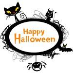 Halloween Frame design — Stock Vector #60601605