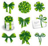 Set of gift bows — Stock Vector