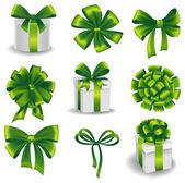 Set de regalo arcos — Vector de stock