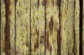 Yellow   Dark wooden panels background — Stock Photo