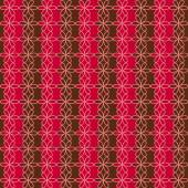 Romantic seamless floral pattern. Endless texture can be used for printing onto fabric and paper, scrap booking. Retro red and brown colors. Abstract chic background — Wektor stockowy