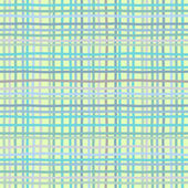 Burlap sack fabric canvas linen flax scrim cloth textile material texture background, vector illustration — Stock Vector