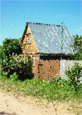 House. Mosaic technique — Stock Vector