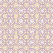 Abstract geometric seamless pattern. Pastel style pattern with circle and line. Endless texture for wallpaper, fill, web page background, surface texture. — Stock Vector