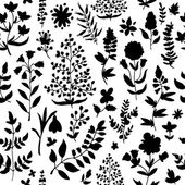 Floral seamless pattern.Seamless pattern can be used for wallpaper, pattern fills, web page background,surface textures. — Stock Vector