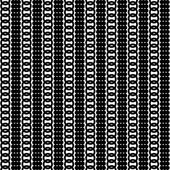 Monochrome geometric ornament. Vector seamless pattern. Endless texture can be used for printing onto fabric, paper or scrap booking, wallpaper, pattern fills, web page background, surface texture. — Stock Vector