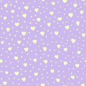 Seamless pattern with hearts. Valentines Day background. Great for baby announcement, Valentine's Day, Mother's Day, Easter, wedding, scrapbook, gift wrapping paper, textiles. — Stock Vector
