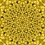 Yellow flower kaqleidoscope — Stock Photo #59198425