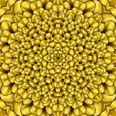 Sarı çiçek kaqleidoscope — Stok fotoğraf
