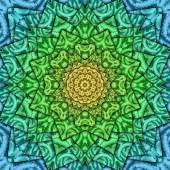 Ice kaleidoscope — 图库照片