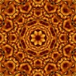 Brown squares kaleidoscope — Stock Photo #61289303