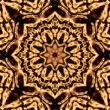 Brown squares mandala — Stock Photo #61442561