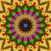 16 elements kaleidoscope — ストック写真