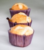 Home made muffins — Stock Photo