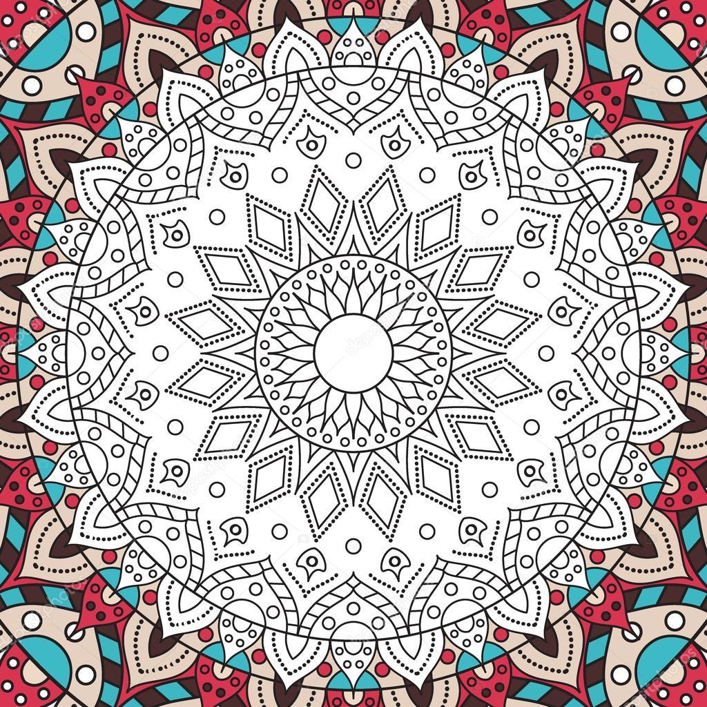 livre de coloriage anti stress imprimable page pour adultes conception de mandala activits pour les enfants plus gs et relax adulte vecteur de