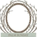 Palm Sunday — Stock Vector #67417539
