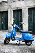 Italian vintage scooter — Stock Photo