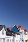 Houses in Vaxholm — Stock fotografie