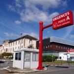 Rennes University Hospital — Stock Photo #60202615