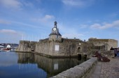 The Port of Concarneau — Stock Photo