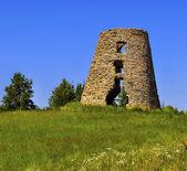 Ruiny na kopci — Stock fotografie