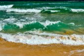 Black Sea wave — Stock Photo
