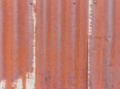 Old zinc texture,rusty corrugated iron metal — Stock Photo
